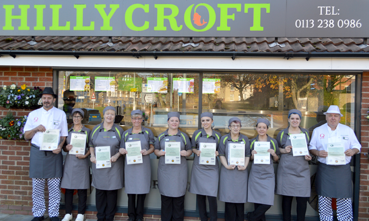 Food hygiene training passed with flying colours