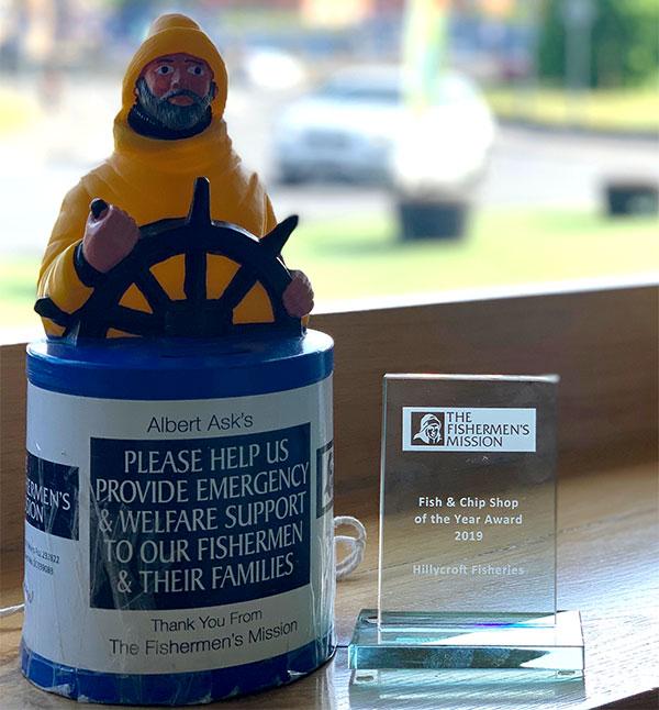 Fishermen's Mission Award for Hillycroft Fisheries