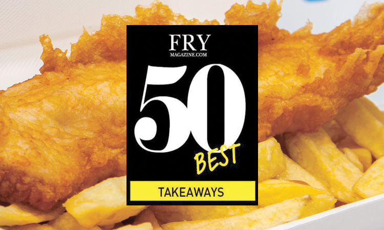 Hillycroft Fisheries named as one of UK's 50 Best Fish & Chip Takeaways