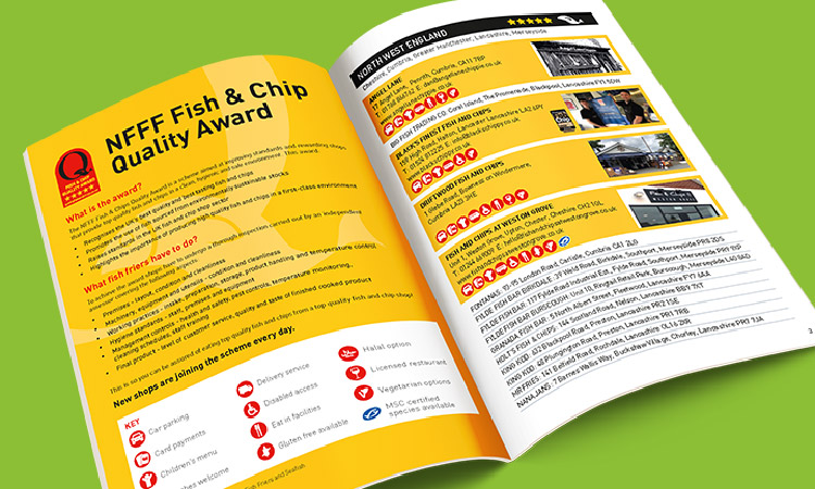 Hillycroft Fisheries features in UK Quality Award Guide