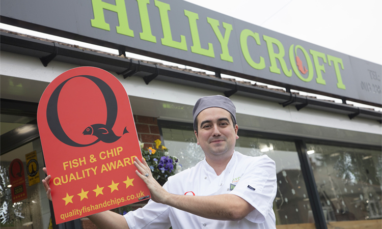 Frying high with Quality Fish & Chip Award